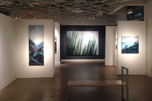 Wall Hangings by Catherine Eaton Skinner seen at Abmeyer + Wood, Seattle - Installations