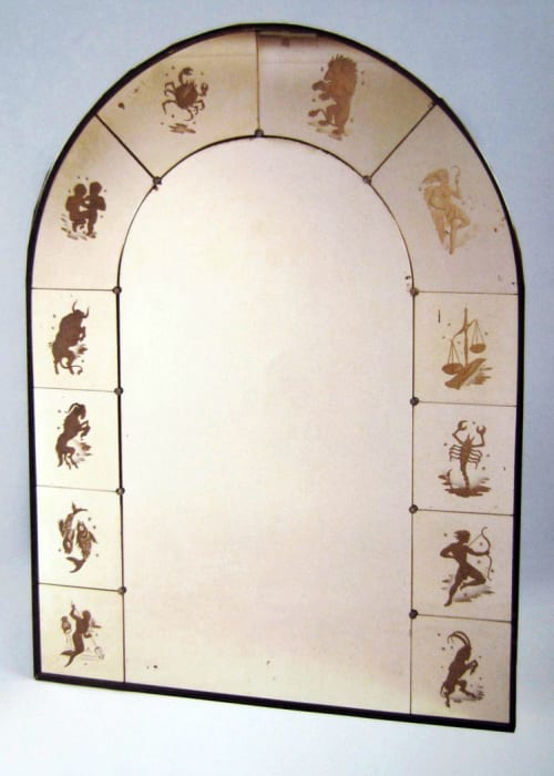 Interior Design by Vesna Bricelj seen at Private Residence - Zodiac Mirror Frame (verre eglomise)