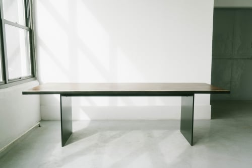 Tables by Last Workshop seen at Private Residence, Chicago - Plate Dining Table
