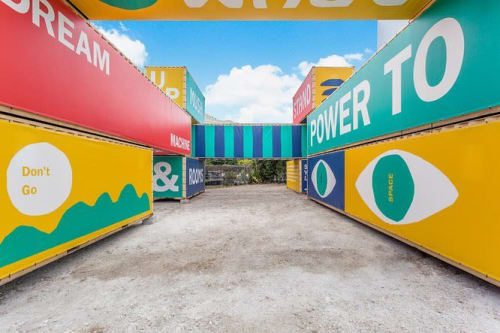 Murals by Cody Hudson seen at Wynwood Art District, Miami - Mural