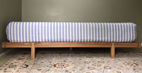 Beds & Accessories by Brian Holcombe Woodworker seen at Princeton, NJ, Princeton - Henry's Bed