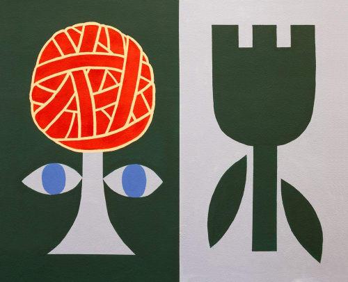 Murals by Maaike Canne seen at Rotterdam, Rotterdam - Mural | Design College Rotterdam