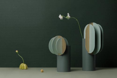 Vases & Vessels by Kateryna Sokolova seen at Kyiv, Kyiv - Gabo & Delaunay vases for NOOM