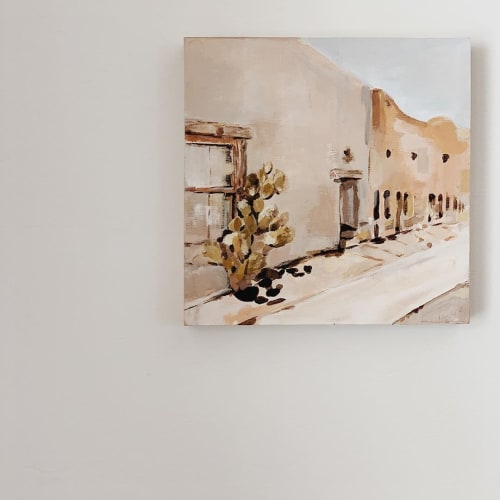 Paintings by Erika Lenaye seen at Private Residence, Tucson - Barrio