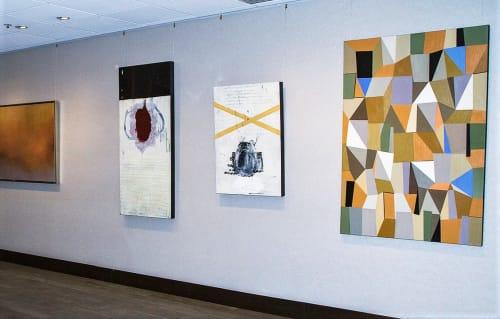 Art Curation by stARTup Art Fair seen at Parc 55 San Francisco - a Hilton Hotel, San Francisco - Abstract Diversity