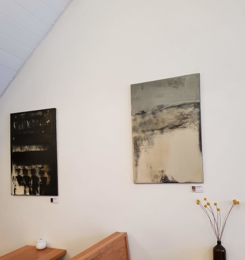 Paintings by Emilie Heurtevent seen at Private Residence, Melbourne - Sand & Dragon