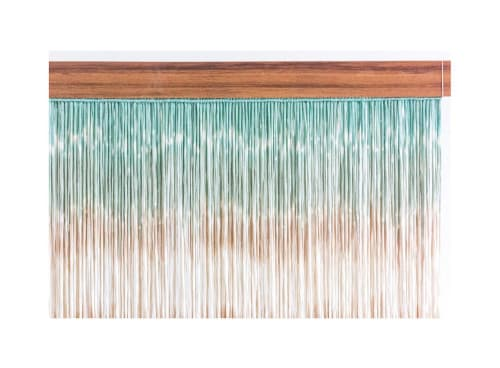 Caribean 1m x 82cm   Macrame Wall Hanging by Mikrama