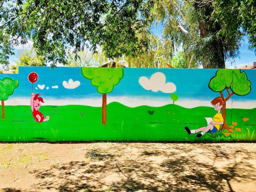 Cartoon Murals By Shaggy Seen At Bright Beginnings Preschool Childcare Peoria Wescover
