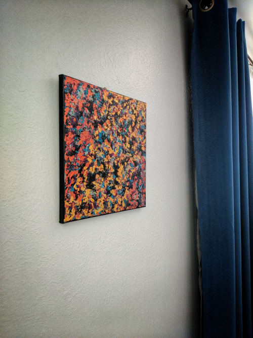 Paintings by Soulscape Art seen at Private Residence, Los Angeles - Commissioned Art