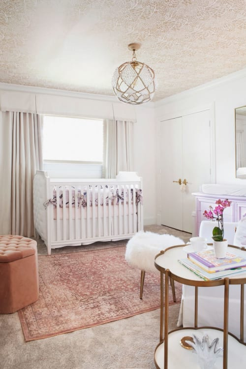 Interior Design by Angeline Guido Design seen at Private Residence, Dallas - Nursery