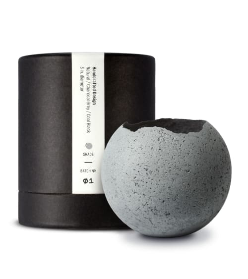 Vases & Vessels by Household by KONZUK seen at Private Residence - Concrete Orbis Vessels