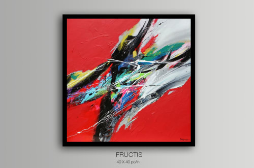 Paintings by Bellemare Art seen at Couach Yachts / IMS, Vallauris - Fructis