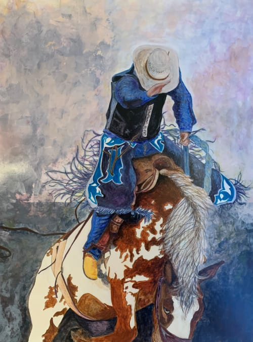 Paintings by Lisa Butters - Rough Stock