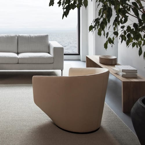 Chairs by Niels Bendtsen seen at Private Residence, Vancouver - U Turn Swivel Lounge Chair