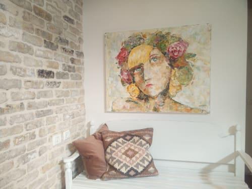 Paintings by Ofer Hod seen at Private Residence, Modi'in-Maccabim-Re'ut - Sierra again