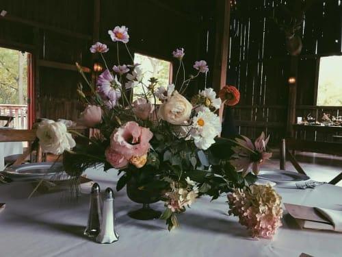 Floral Arrangements by SWEVEN seen at The Farm at Dover, Kansasville - Flower Arrangement