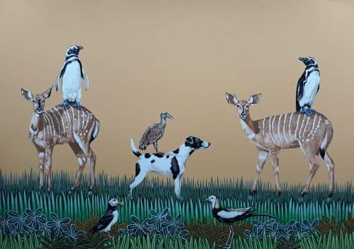 Sarah Pratt - Paintings and Murals