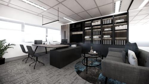 Interior Design by Studio Hiyaku seen at 100 Miller St, North Sydney - Access Group Office
