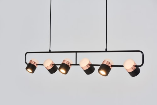 Pendants by SEED Design USA seen at Private Residence - Ling Pendant