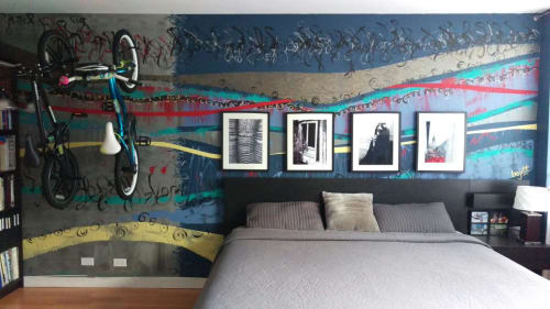 Murals by BOJITT seen at Private Residence, Chicago - Together