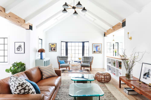 Interior Design by Stefani Stein seen at Private Residence, Los Angeles - Silver Lake Residence