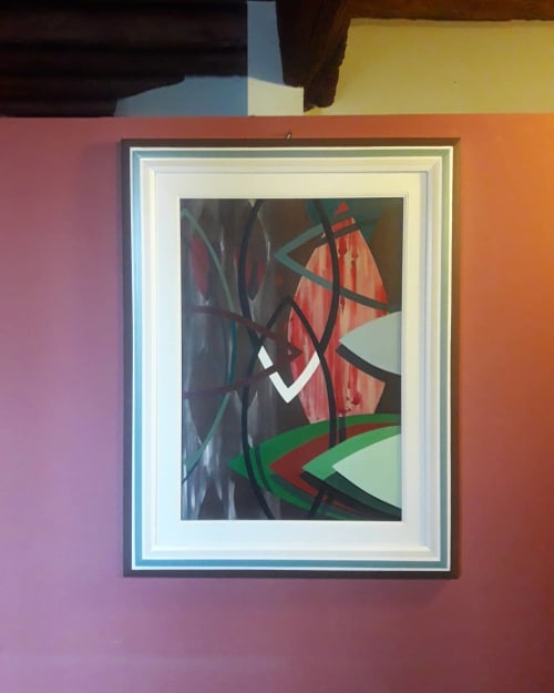 Paintings by Giulia Salamone Noeyes seen at Private Residence - Painting (abstract)