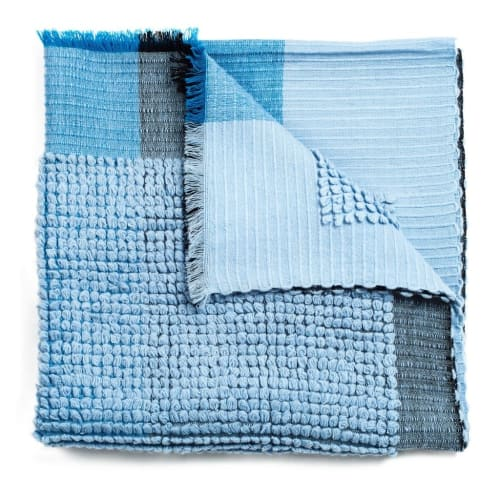 Macaroon Sky Throw | Linens & Bedding by Studio Variously