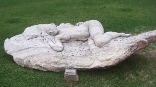Sculptures by John Fisher Sculptures seen at Braga, Braga - Repose