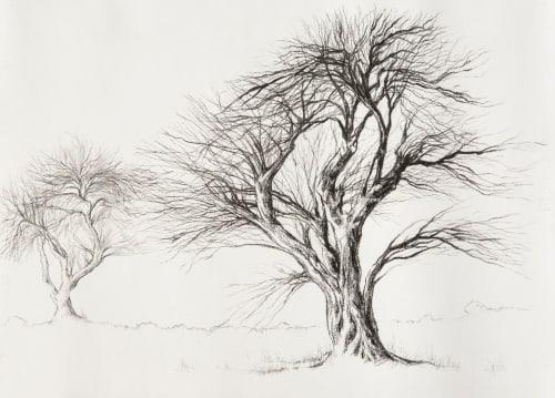 Paintings by Lisl Barry seen at Oudtshoorn, Oudtshoorn - Breathe _ In Celebration of Trees