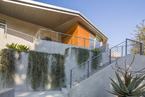 Architecture by ANX Architects seen at Private Residence, Los Angeles - Folded View House