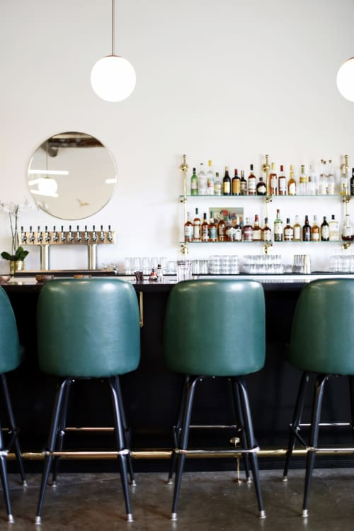 Interior Design by Bowman Design seen at Champagne Diner, Seattle - Interior Design