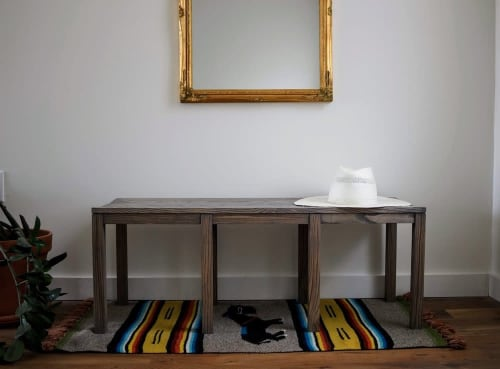 Benches & Ottomans by Oxford Street Furniture seen at Private Residence | Philadelphia, PA, Philadelphia - Anansi Bench
