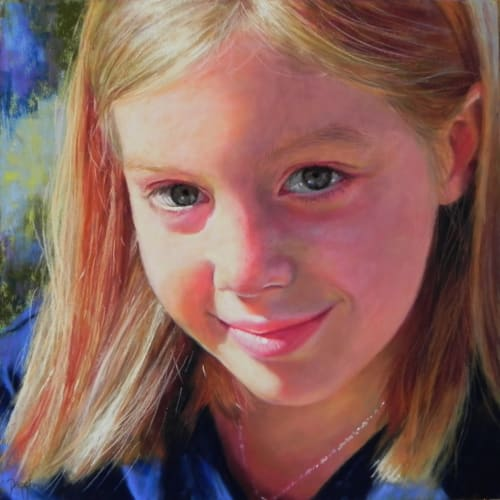 Paintings by Daggi Wallace seen at California - Up Close & Personal Portraits