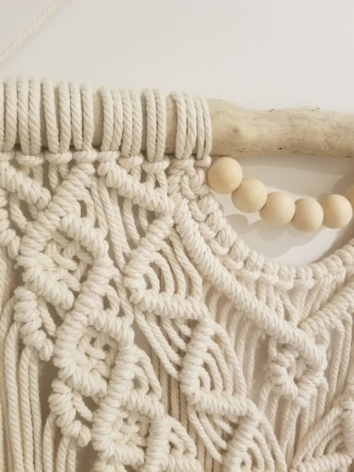 Macrame Wall Hanging by TheKnottedBloom seen at Creator's Studio, Hamilton - *Madeline* Wall Hanging