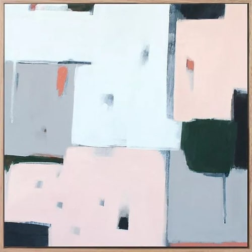 Paintings by Sarah Kelk seen at Private Residence, Melbourne - Always Looking