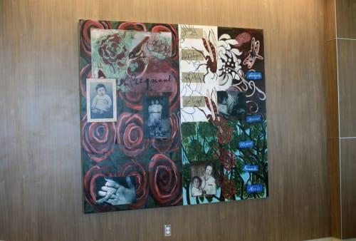 "Art & Wall Decor by Leticia Huerta seen at Robert B. Green Campus - University Health System, San Antonio - Robert B. Green Medical Center ""Healing"""