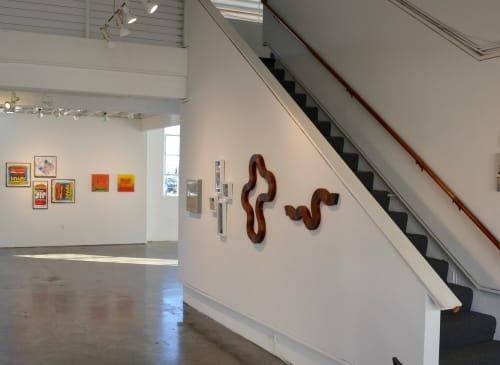Wall Hangings by Lutz Hornischer - Sculptures & Wood Art seen at SFMOMA Artists Gallery, San Francisco - Wall Sculptures at SFMOMA Artists Gallery