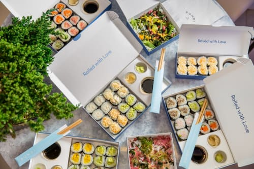 Architecture by Mads Hansen seen at New York, New York - Bondi Sushi's elevated takeout experience