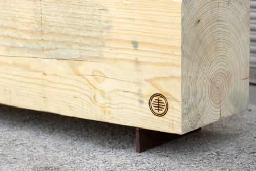 Beam Bench | Large Reclaimed Wood Bench | Benches & Ottomans by Alabama Sawyer | Pepper Place in Birmingham