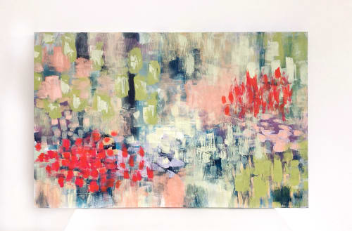 Paintings by Rebecca Zweibel seen at Private Residence, Saint Petersburg - Have You Seen Her?