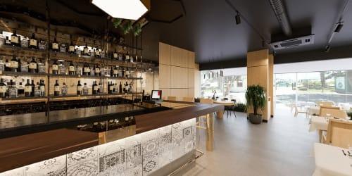 Interior Design by Quark Studio Architects seen at Bodrum, Bodrum - Moya Restaurant