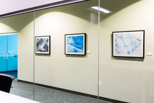 Paintings by William Birdwell seen at Stratus Solutions, Fulton - Black Hole