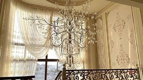Wallpaper by Affreschi & Affreschi seen at Private Residence - Louis-Era French Design