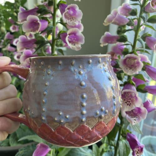 Cups by Meraki Designed seen at Private Residence, Holliston - Raspberry Mist Mug