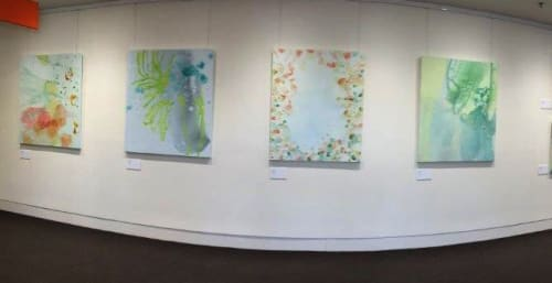 Paintings by Wendy Grace seen at Frankston Arts Centre, Frankston - Sense of Place
