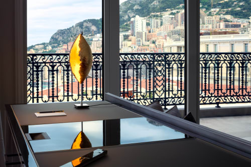 Lamps by Catellani & Smith seen at Hotel de Paris, Monaco - PostKrisi 10 - Malagolina