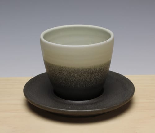 Teacup with Saucer | Cups by Dowd House Studios | Healthy Being Café & Juicery in Jackson