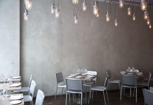 Interior Design by Rozhia Tabnak seen at Private Residence, New York - Restaurant Design