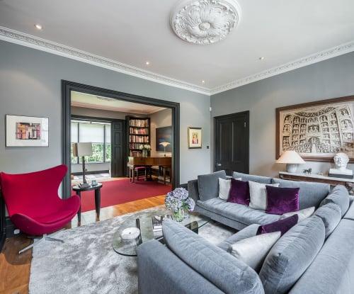Interior Design by Paul Warren Design seen at Private Residence, London - Primrose Hill