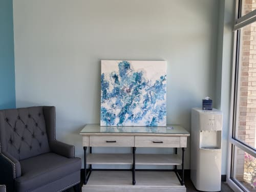 Paintings by Andrea Frank seen at Raleigh, Raleigh - Seafoam Dreams